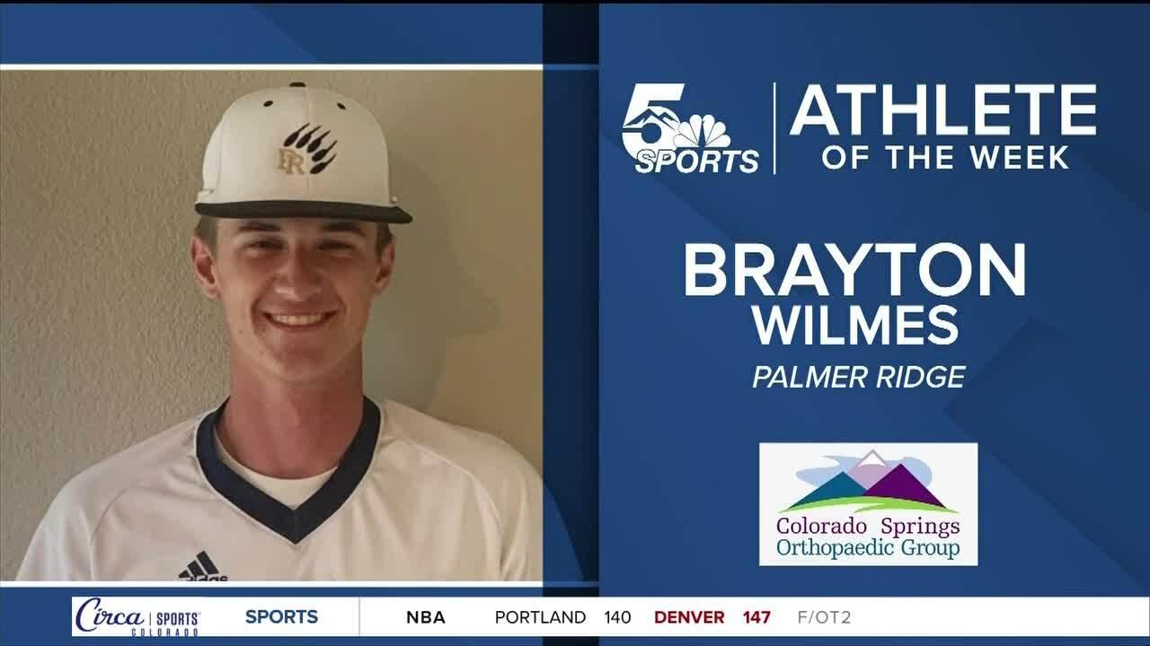 Athlete of the Week, Brayton Wilmes