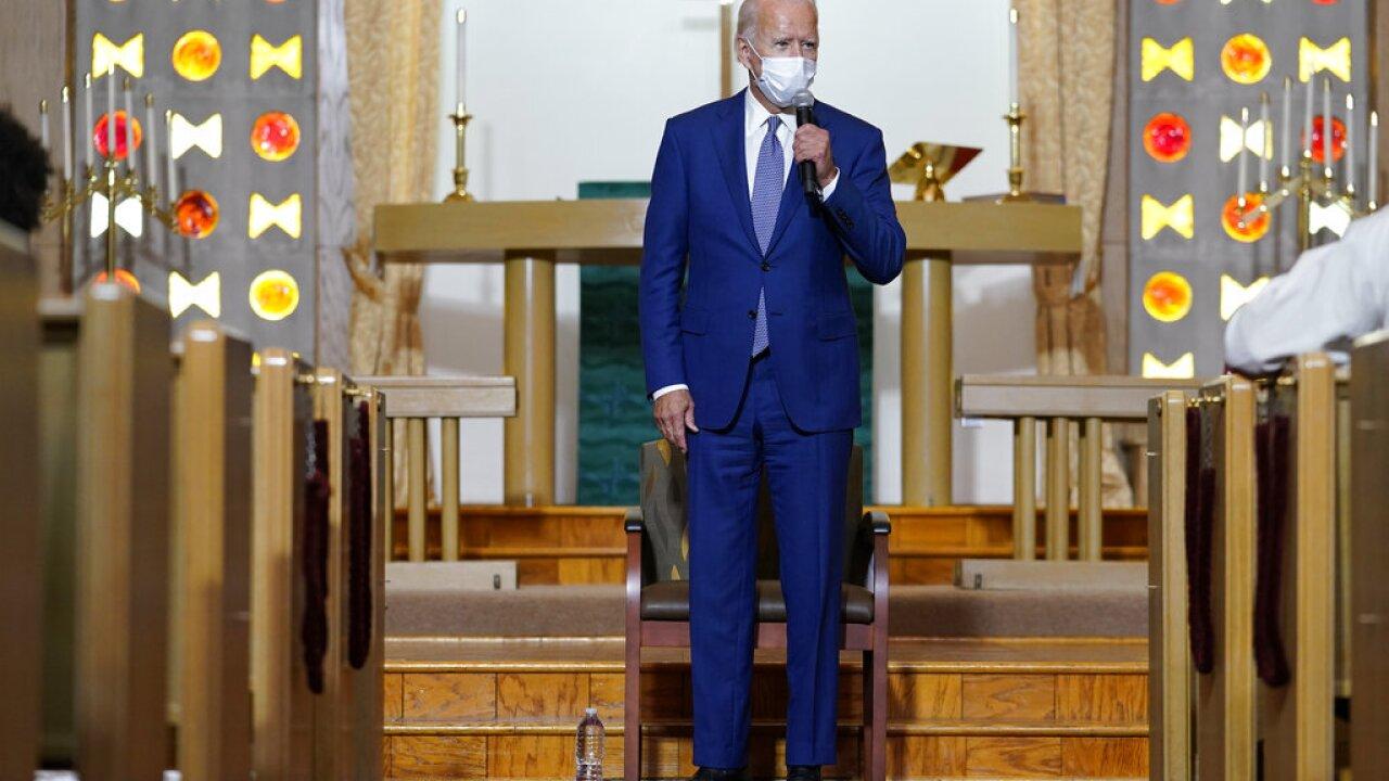 Joe Biden kenosha