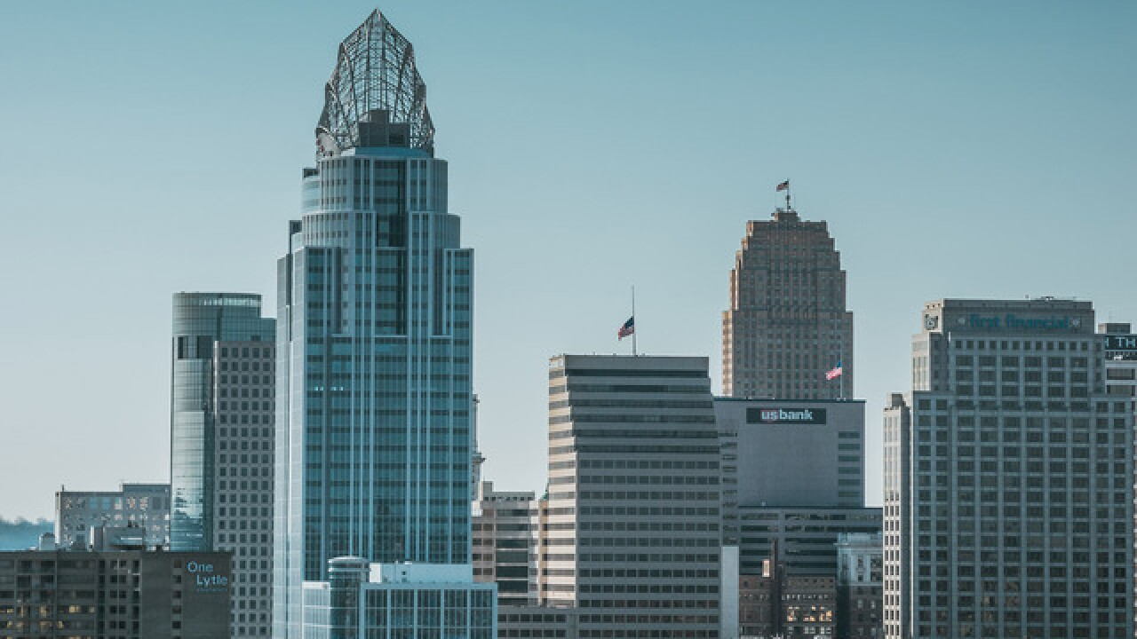 Cincygram: Many views of skyline behemoth