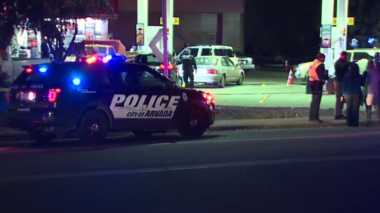 No officers hurt in Arvada police shooting