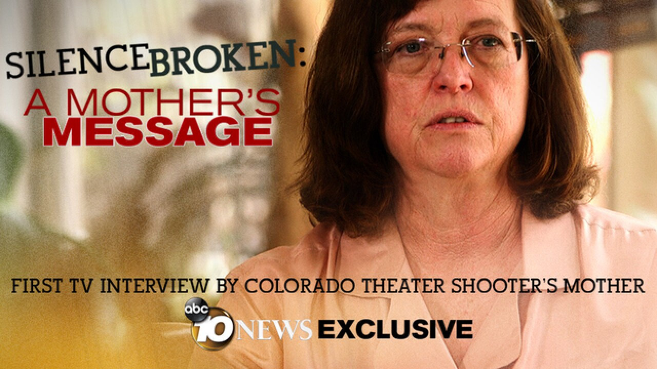 Aurora shooter James Holmes' mom breaks silence