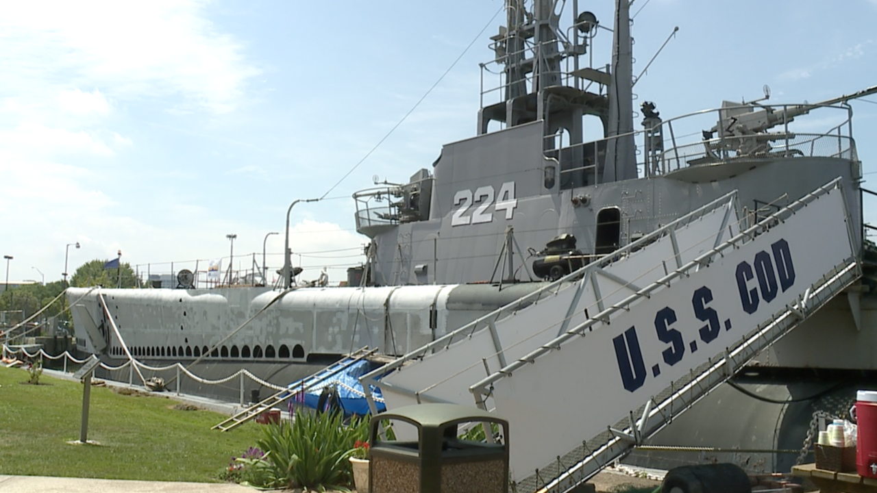 U.S.S. Cod's 60th anniversary celebrated in Cleveland