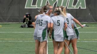 Loyola University women's lacrosse