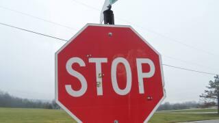 Ross Township street signs shot
