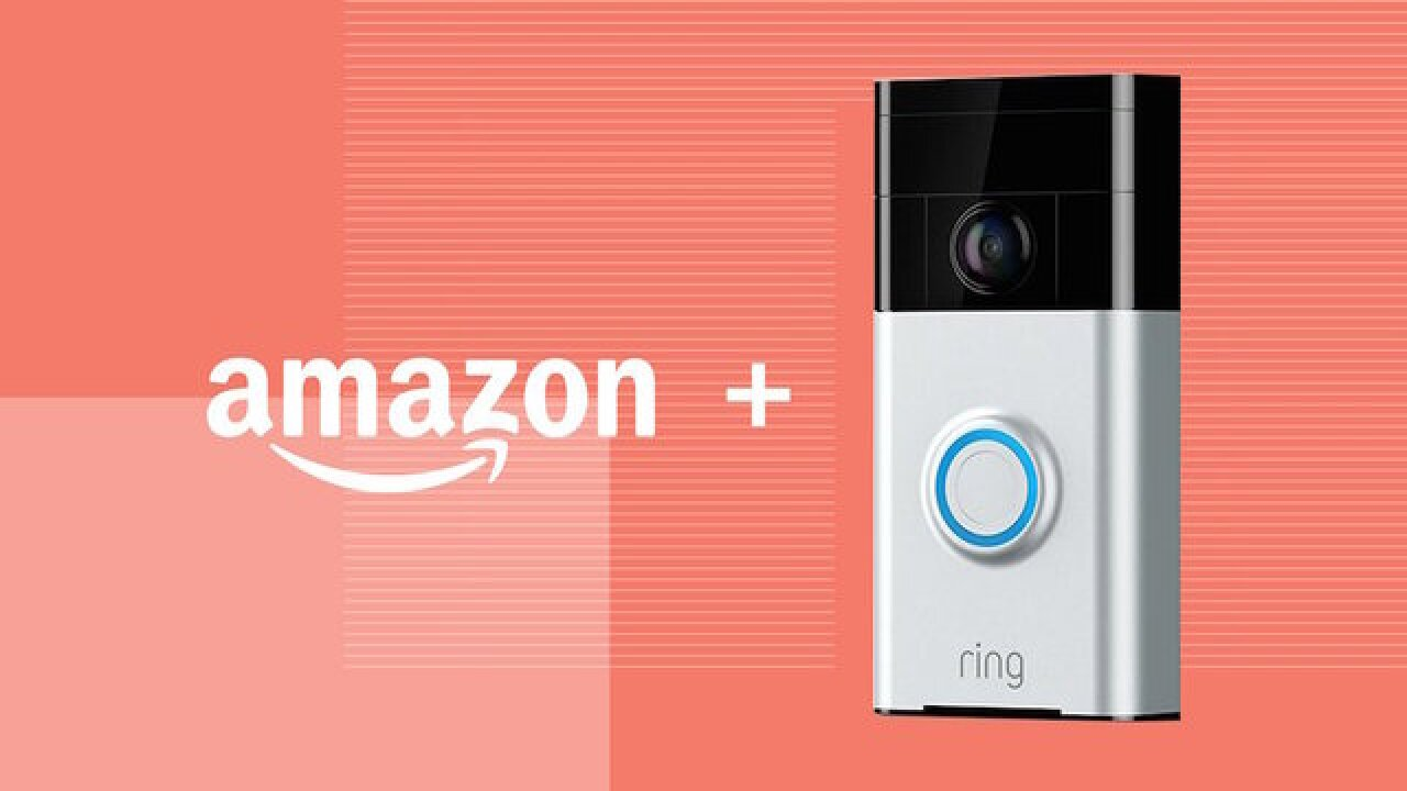 Amazon buys Ring to get into the home security business