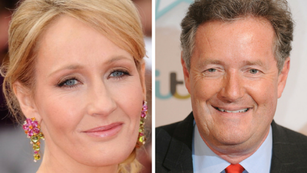 J.K. Rowling, Piers Morgan spar on Twitter over politics