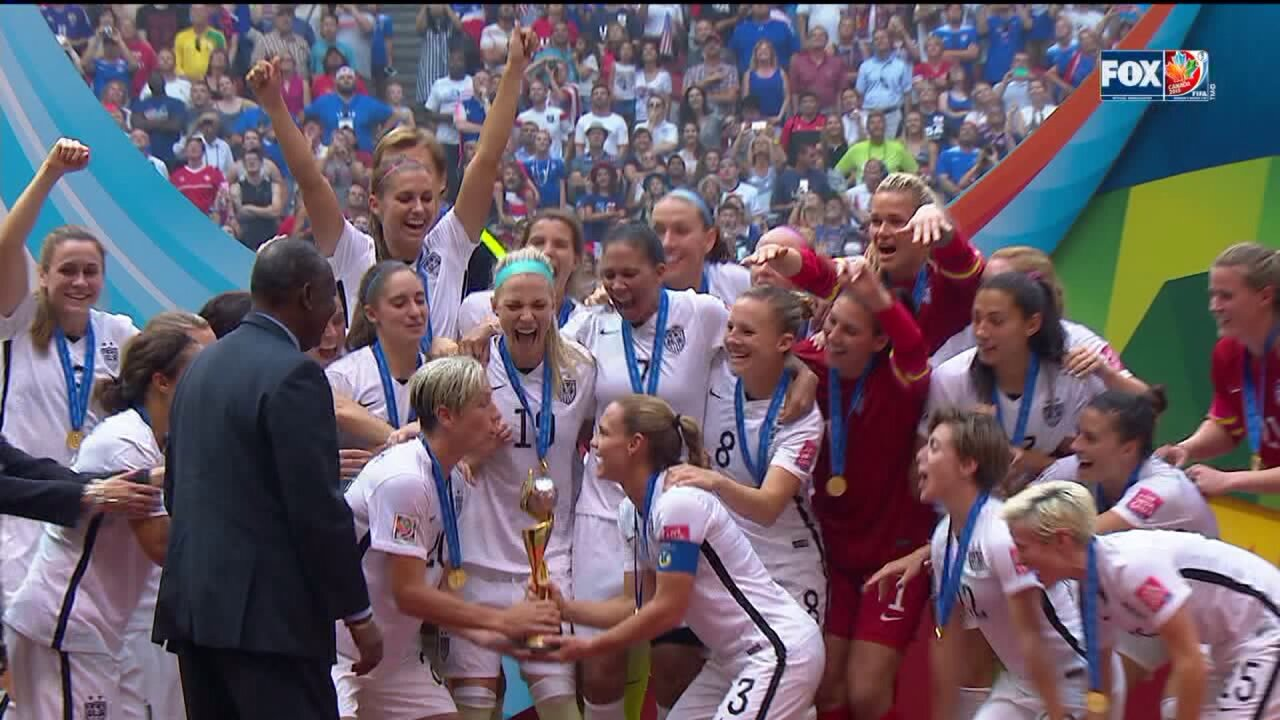 USA defeats Japan 5-2 to win 2015 Women's World Cup
