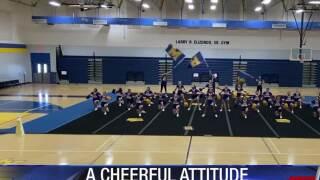Pandemic not slowing down Moody H.S. cheerleaders
