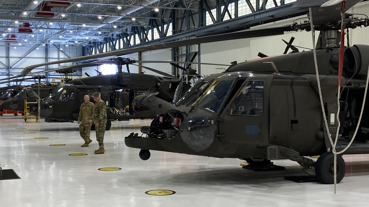 National Guard Helicopters