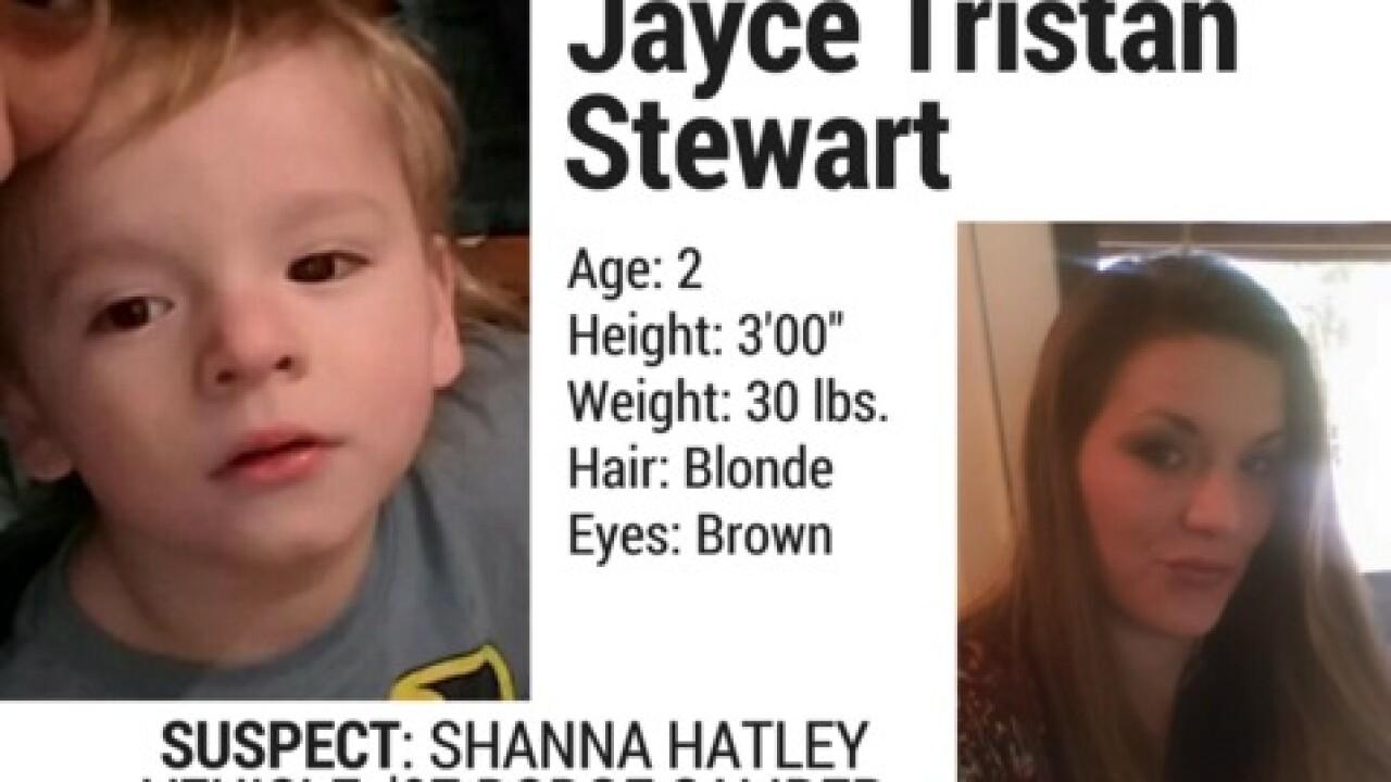 Endangered Child Alert Canceled For 2-Year-Old