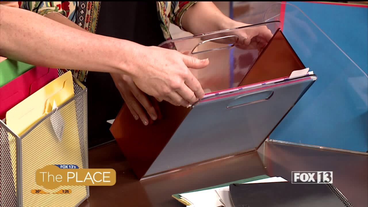 Tackle the dreaded pile of papers with simple organizingtricks