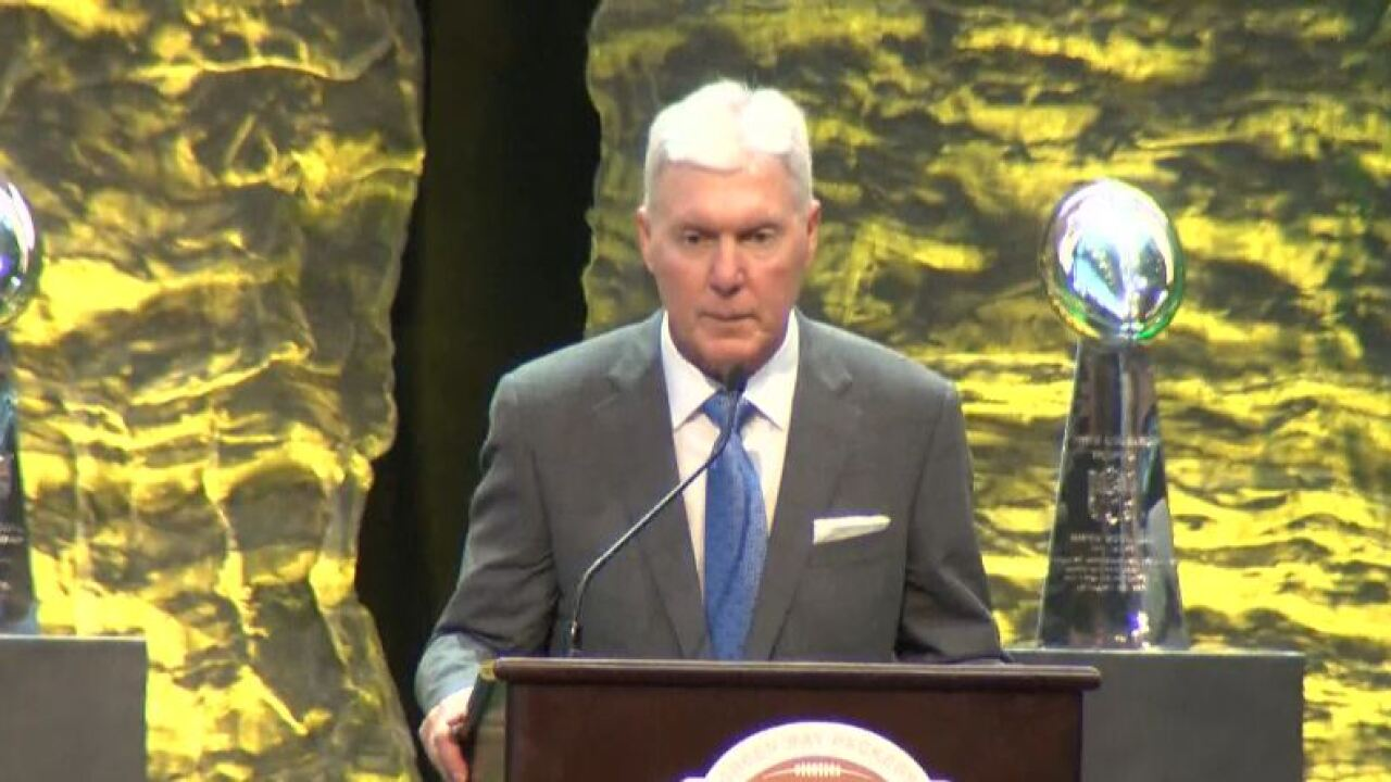 Former Packers GM Ted Thompson inducted into Packers Hall of Fame