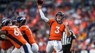 Broncos quarterbacks -- Lock, Rypien, Bortles -- pulled from practice
