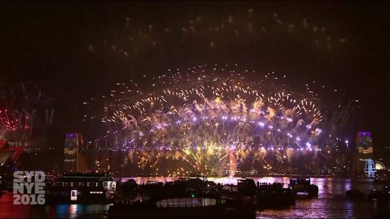 Watch New Year celebrations ring in 2017 around the world
