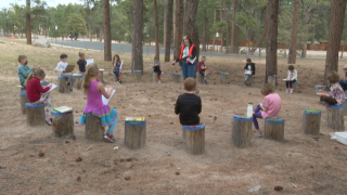 Edith Wolford Elementary Outdoor Classrooms