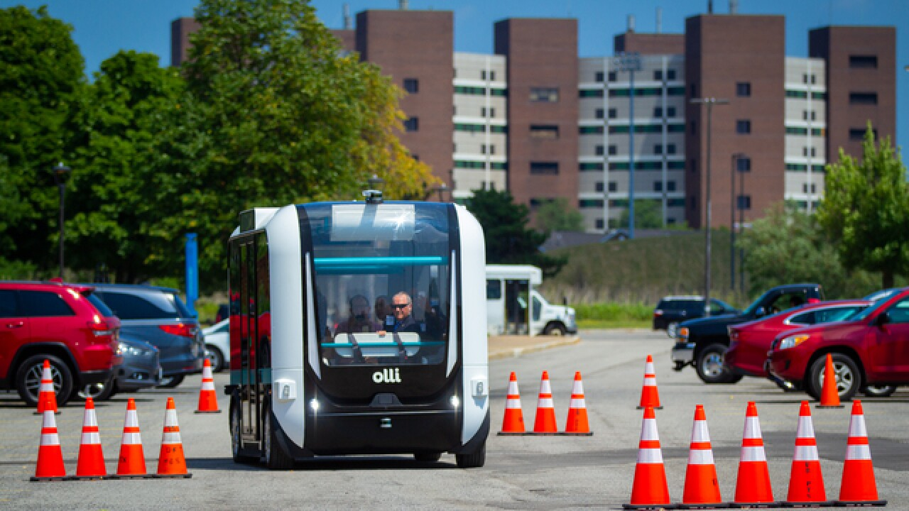 Meet Olli --a self-driving bus