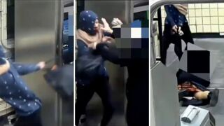 Attempted robbery at Brooklyn subway station