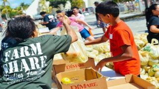 Farm Share to provide food to local families in need