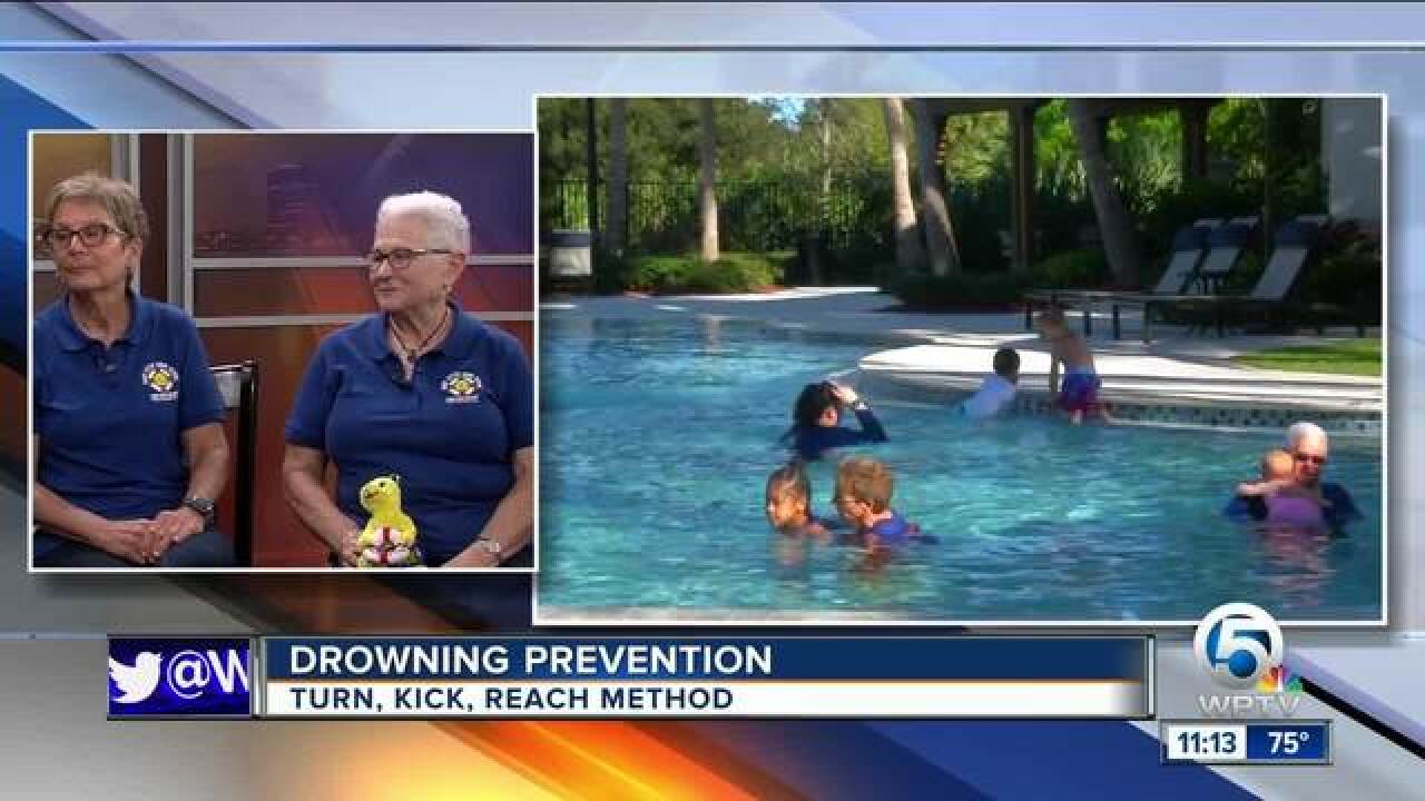 Baby Otter Swim School offers 5-day program in effort to eliminate child drownings