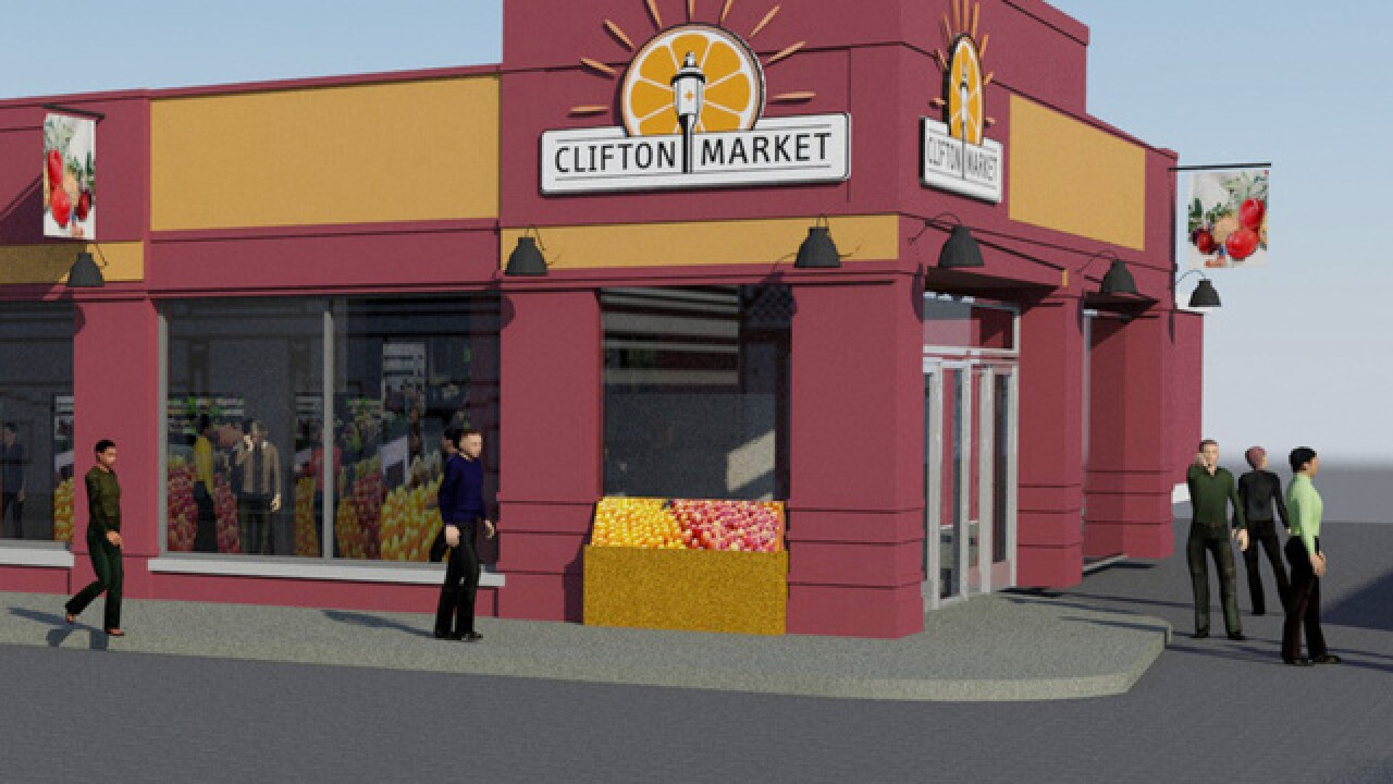 Clifton Market 'now a construction zone'