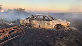 Burned Car (Photo from Chad Danielson)
