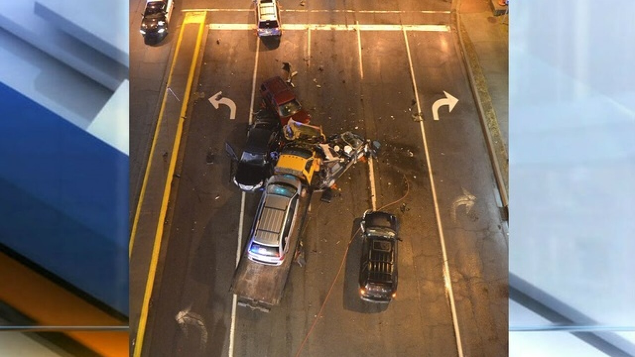 Man killed in crash near I-65 in Columbus