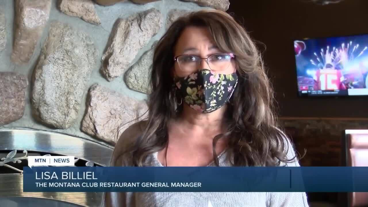 Lisa Billiel, the manager at The Montana Club