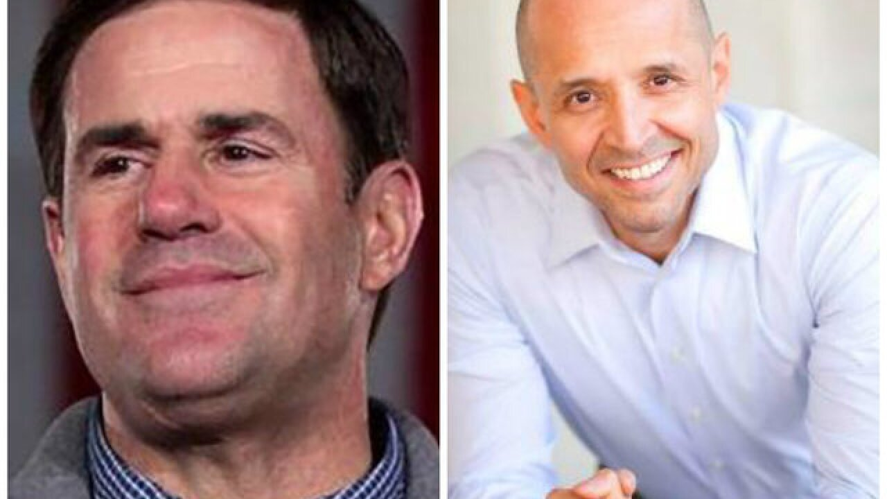 Ducey wins 2nd term in Arizona governor race