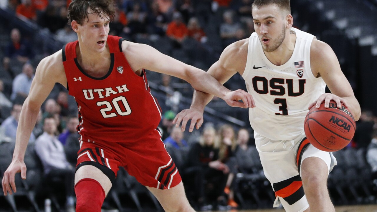 P12 Utah Oregon St Basketball