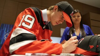 Get ready for Jack Hughes rookie cards: top pick signs with Upper Deck