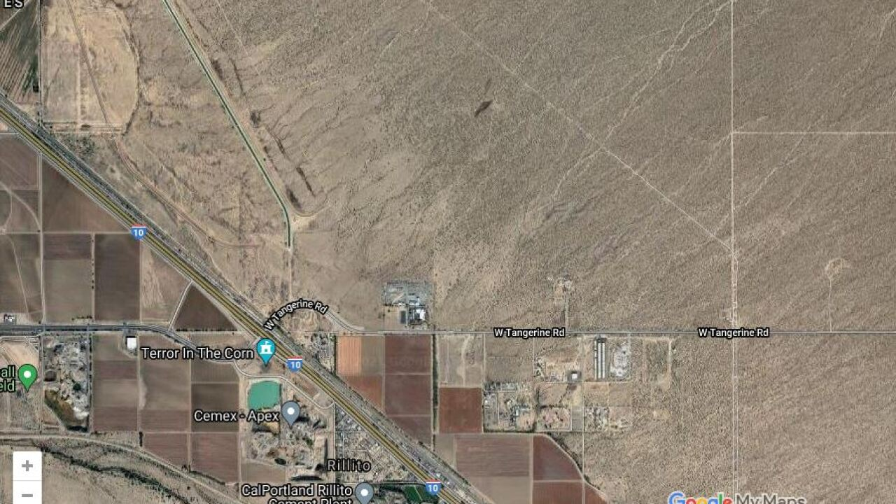 A man is dead after being hit by an unmarked Pima County Sheriff's Department car Friday.