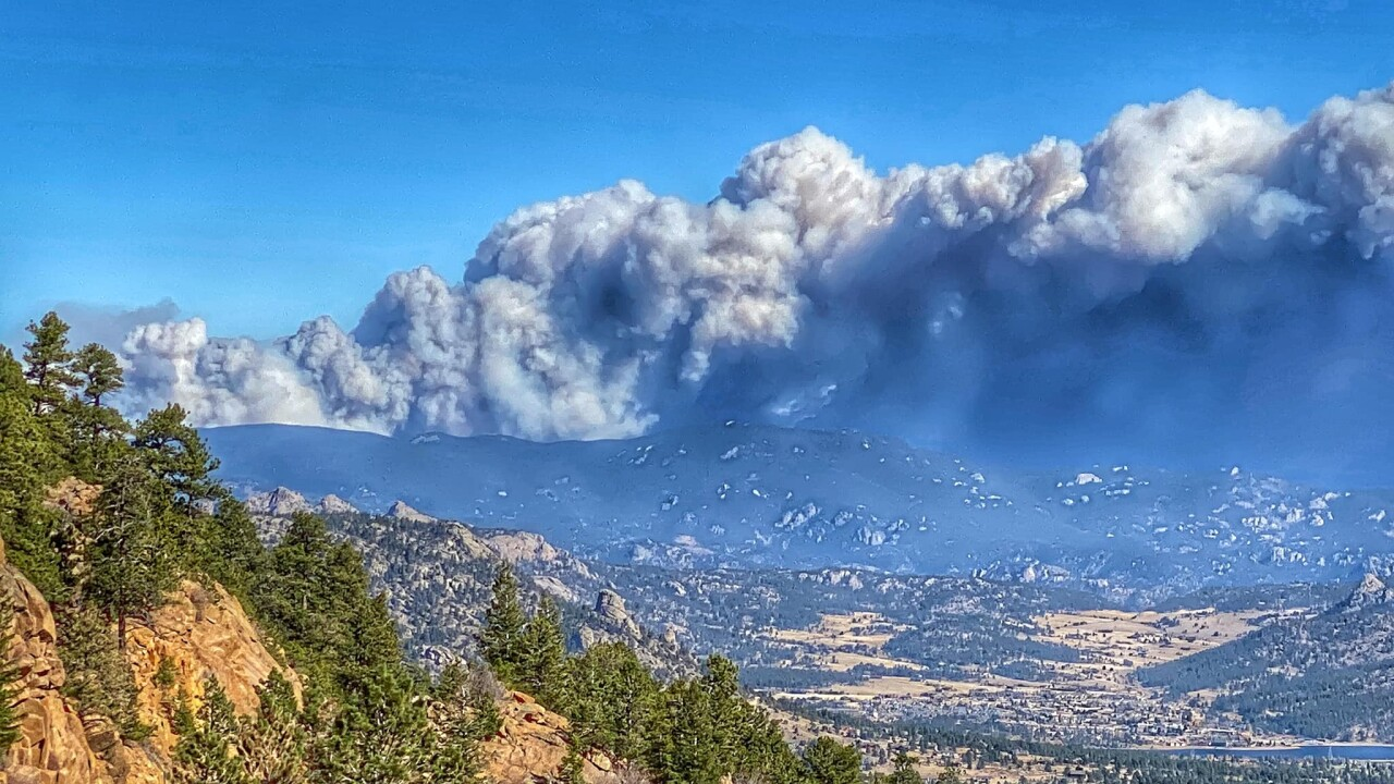 Cameron Peak Fire is now the largest wildfire in Colorado history