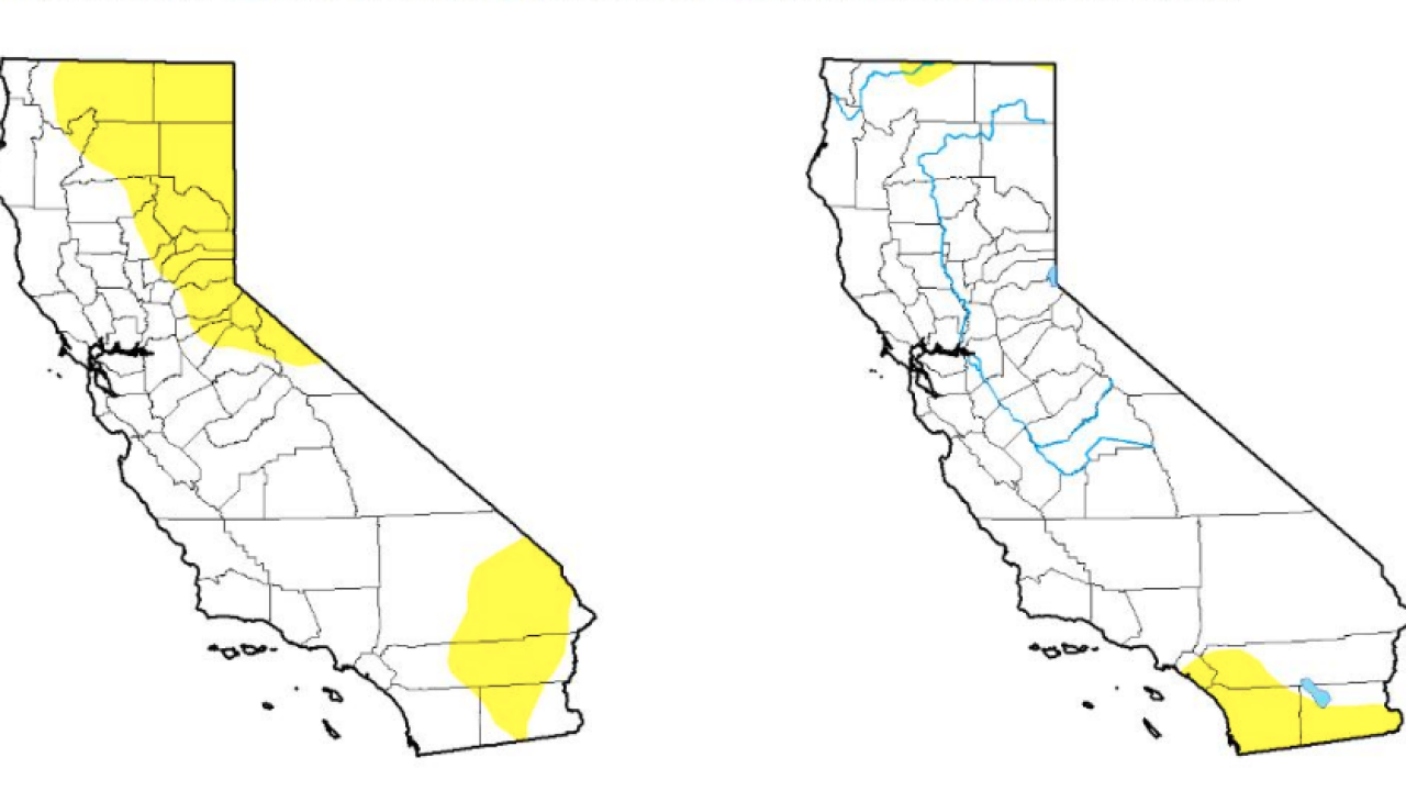 California drought free for the first time since 2011 on