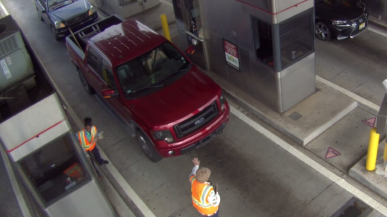 Troopers searching for pickup driver who drove off after hitting Sunshine Skyway Bridge toll worker