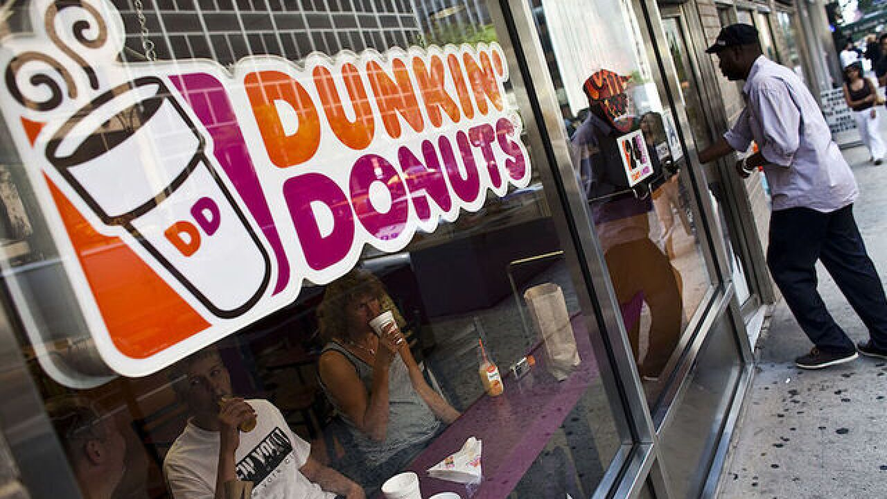 Dunkin' Donuts giving away free Iced Coffee on Monday, Dec. 4