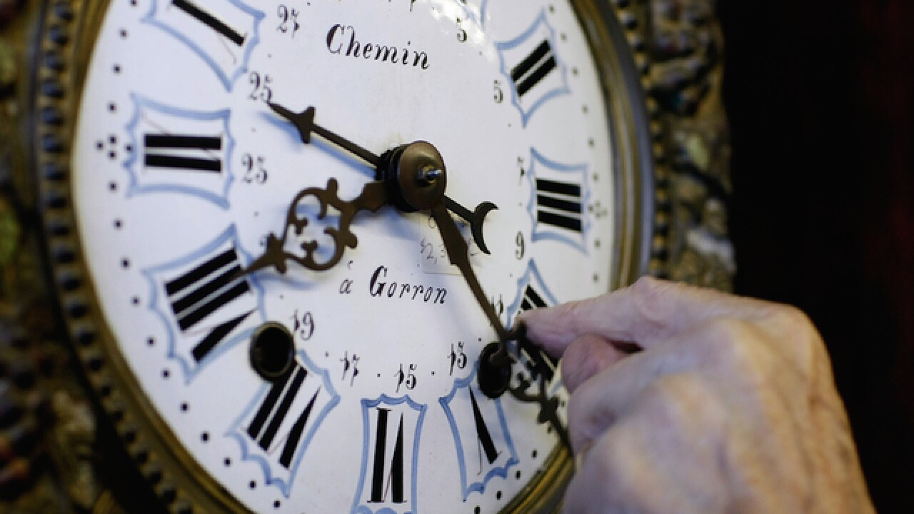 Daylight Saving Time: Set clocks forward this weekend