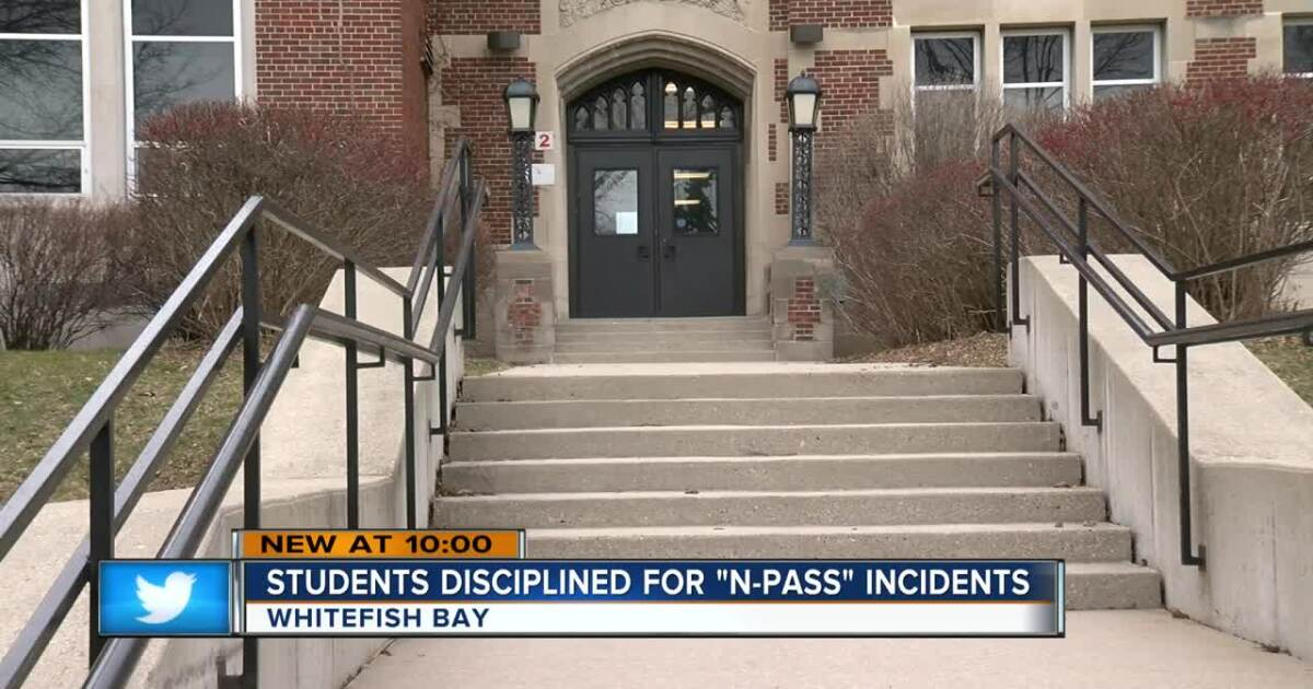 Whitefish Bay School District Students Asking For N Word