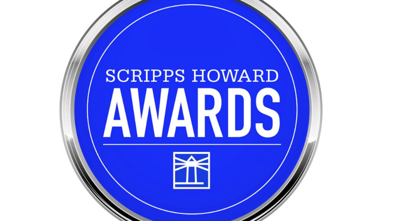 Here's who won Scripps Howard Awards for big achievements in journalism