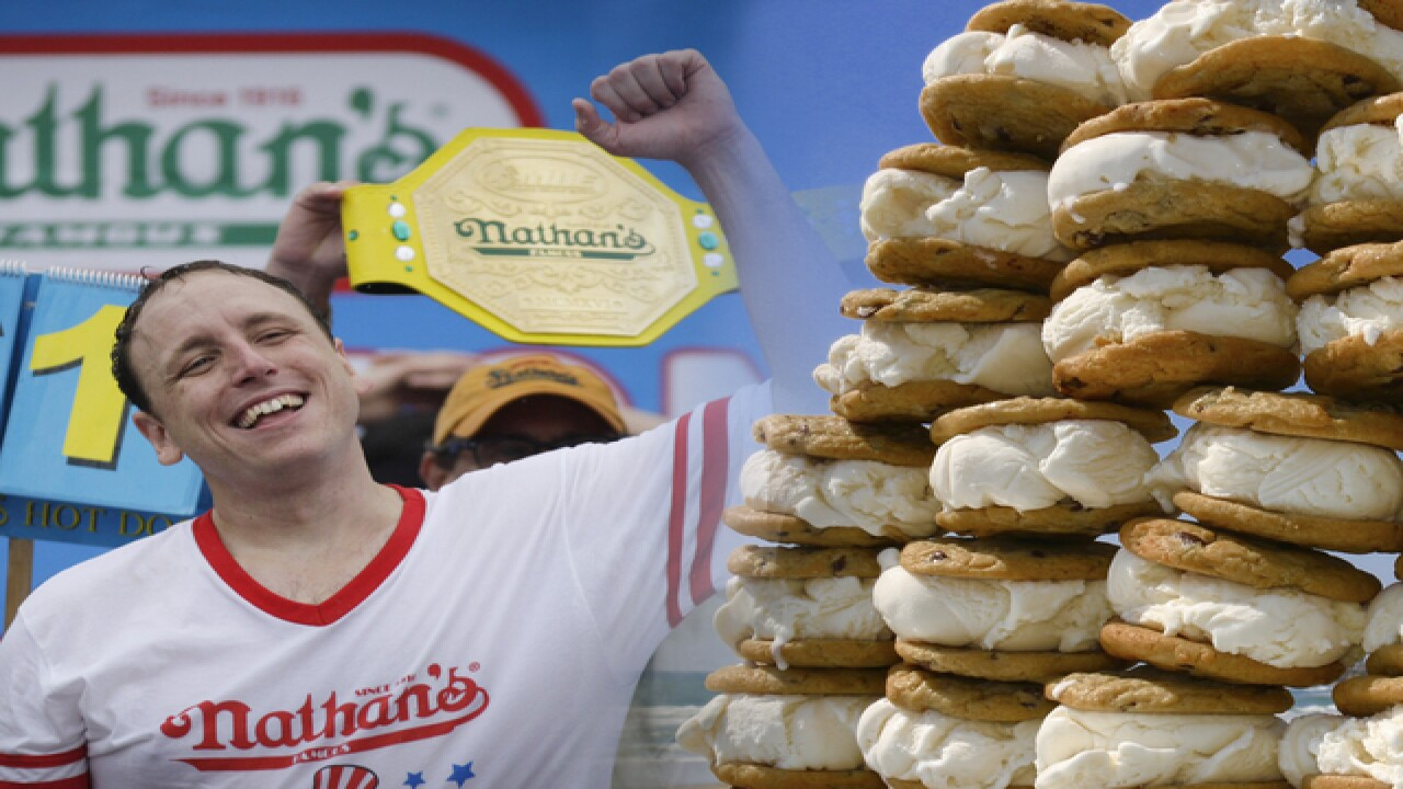 Ice cream eating contest heads to Petco Park