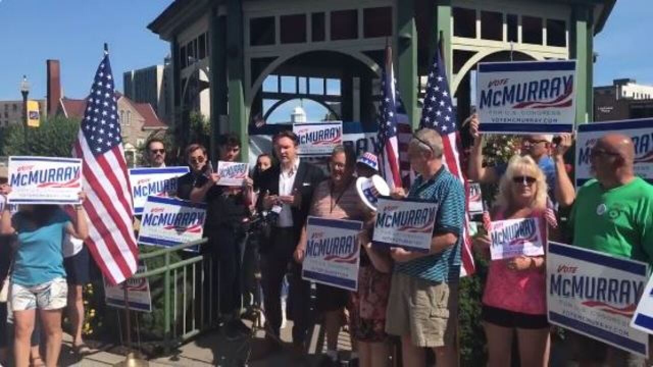 Democratic candidate Nate McMurray calls on Collins to resign