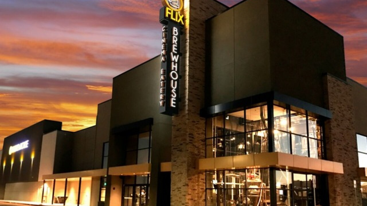 Dine-in movie theater, Flix Brewhouse, to open in December in downtown  Chandler