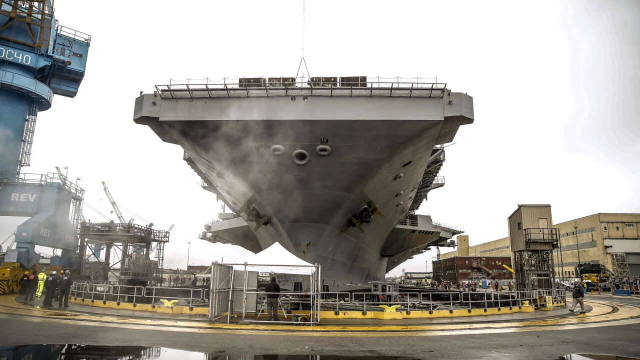 Navy's long-range maintenance report calls for more dry docks and greater capacity for largerfleet