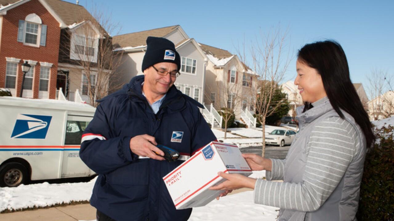Postal Service hiring holiday help