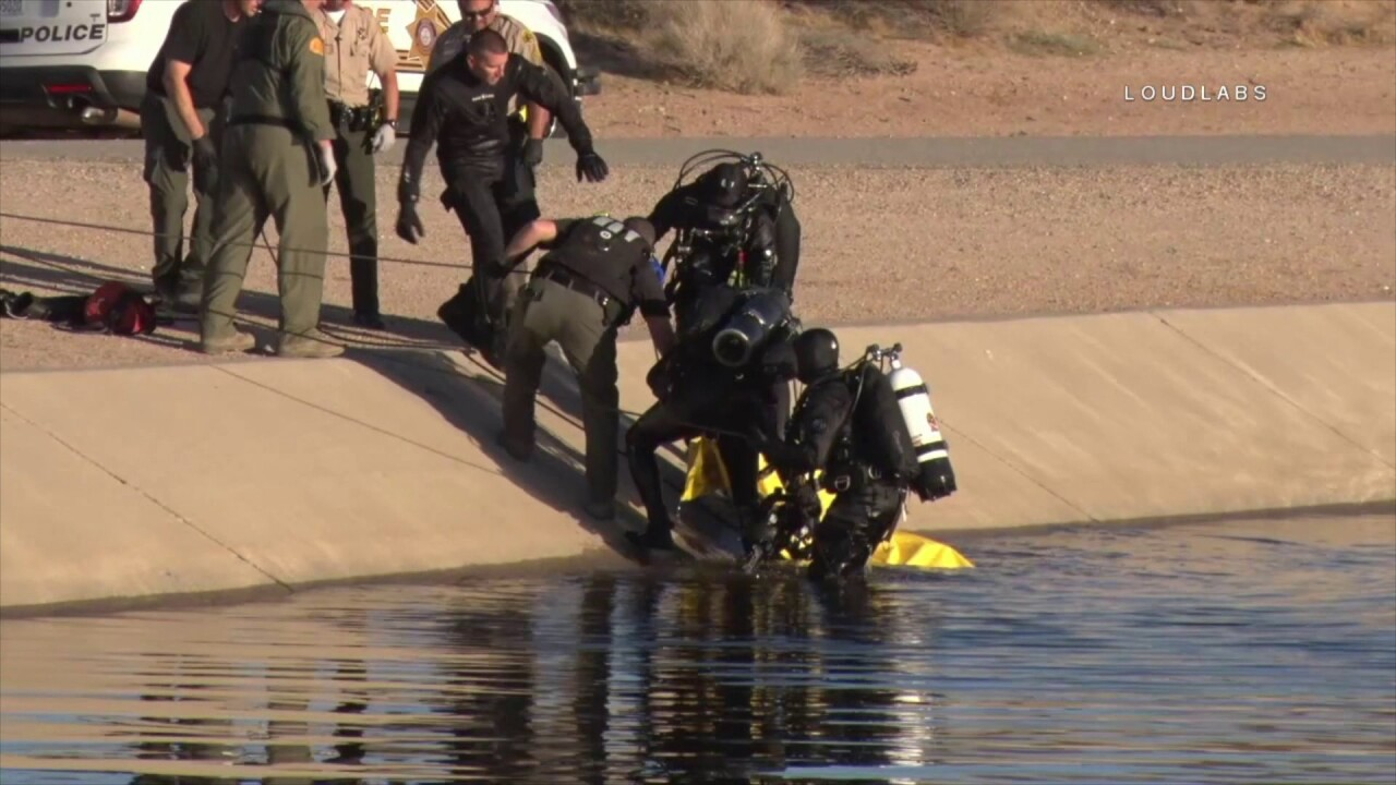 Dad dies rescuing son whose bike fell into aqueduct