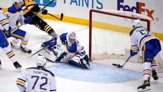 Sabres clinch worst record in NHL with 8-4 loss to Penguins