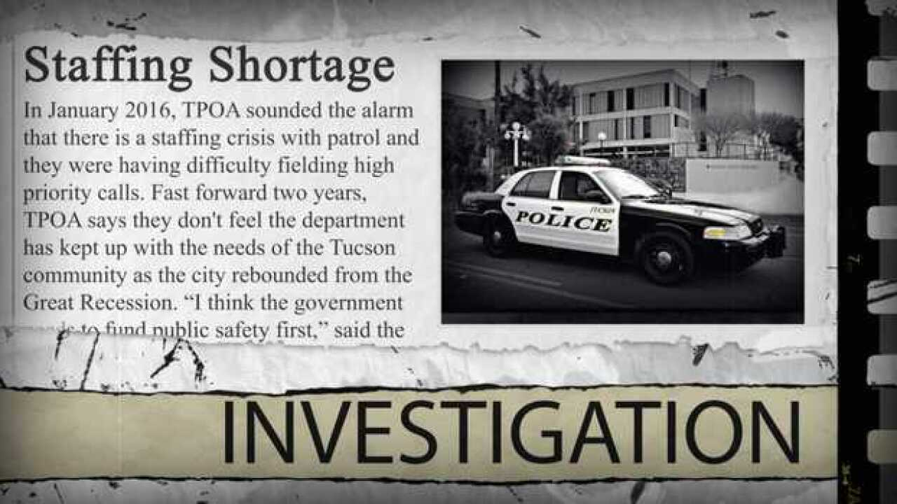 What's expected? Tucson Police response times