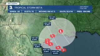 Tropical Storm Beta 11am Saturday.png
