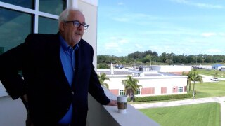 Craig Fugate at Indian River State College on May 4, 2021
