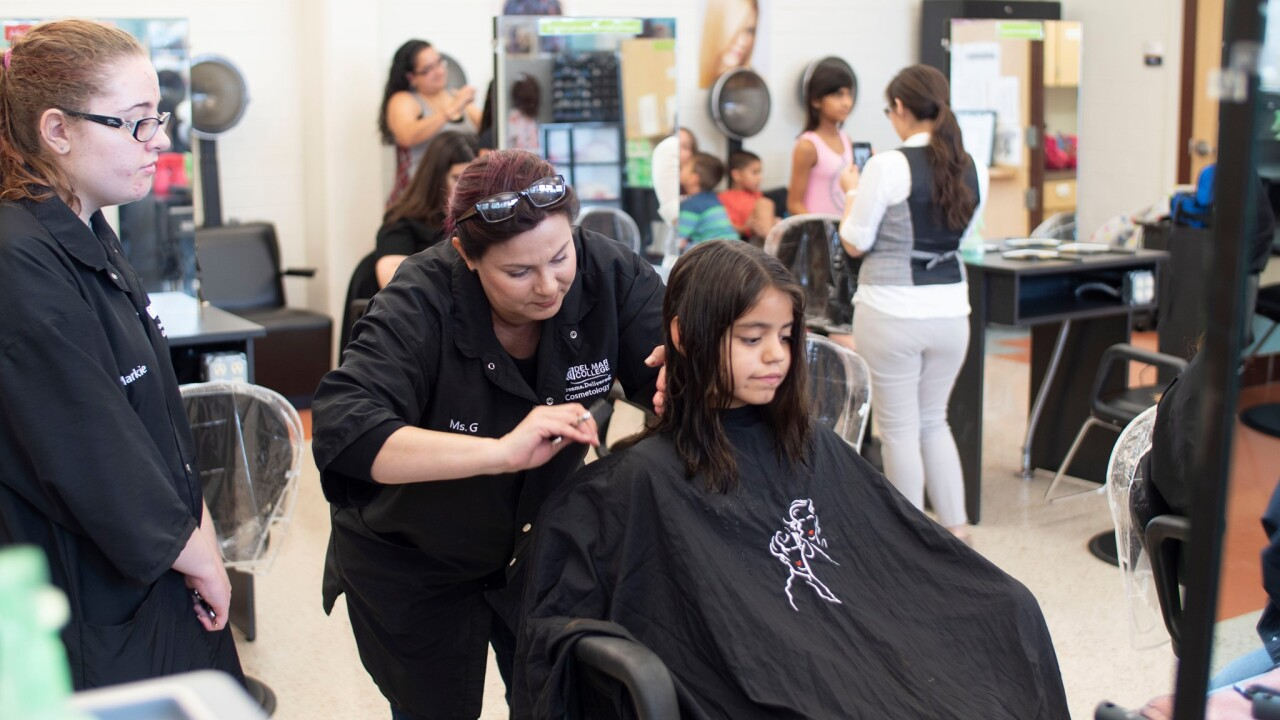 Locks for Love staged Saturday at Del Mar College