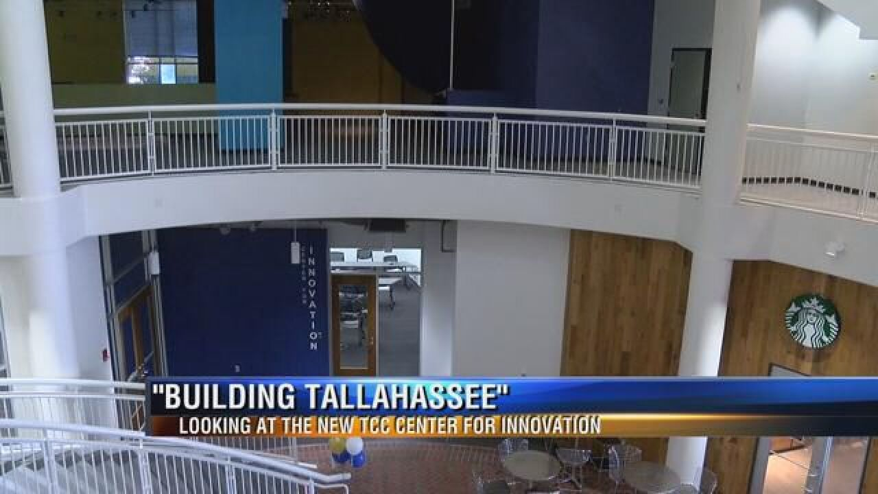 Building Tallahassee TCC Center for Innovation